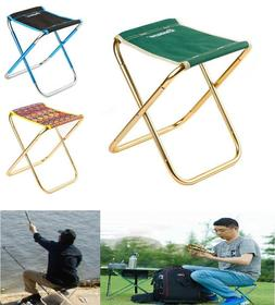Outdoor Aluminum Alloy Folding Camping Stool Lightweight Cha