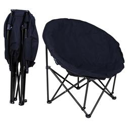 Outdoor Camping Chair Folding Saucer Moon Chair Lagre Oversi
