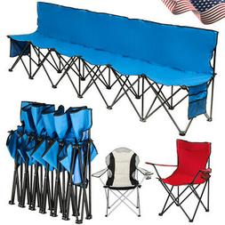 Outdoor Camping Chair with Cup Holder Heavy Duty Oversize Po