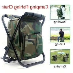 outdoor camping folding backpack 2 in 1