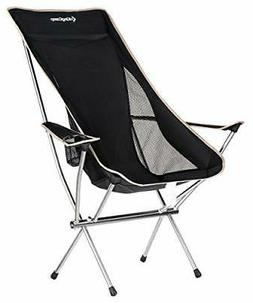 outdoor chair high back type camp chair
