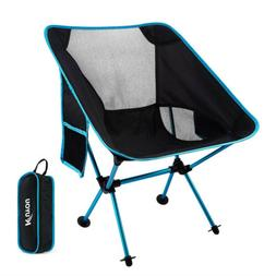 KUYOU Outdoor Fold Up Chairs Beach Ultralight Portable Campi