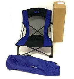 Uline Outdoor Folding Event / Camp Chair With Carry Bag Colo
