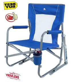 Outdoor Freestyle Rocker Portable Folding Rocking Chair Spor