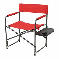 Portal Outdoor Portable Folding Camping Directors Chair with