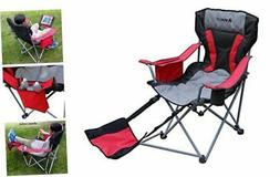Outdoor Quad Camping Chair - Lightweight, Portable Folding D