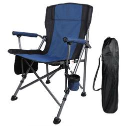 Outdoor Recliner Chair Camping Folding Chairs Rocking Portab