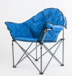outdoor saucer moon chair folding camping club