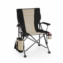 Picnic Time Outlander Camp Chair with Cooler Black or Navy