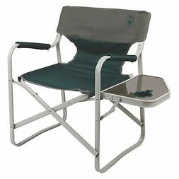 Coleman Outpost Breeze Portable Folding Deck Chair with Side
