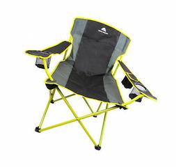 Oversize Camping Chair Set Quad Large Folding Camp Patio Law