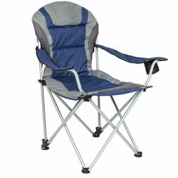Oversize Camping Fishing Beach Chair Folding Deluxe Padded R