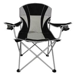 Ozark Trail Oversize Mesh Folding Camping Chair Durable Stee