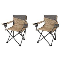 Coleman Oversized Big-n-Tall Quad Camping Chairs  | 2 x 2000
