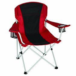 Ozark Trail Oversized Chair, RED/Black
