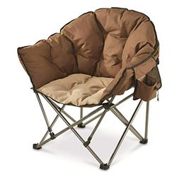 Guide Gear Oversized Club Camp Chair, 500-lb. Capacity, Tan/
