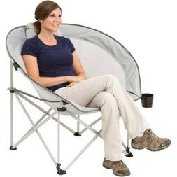 Oversized Cozy Camp Chair Beach Folding Picnic Outdoor Campi