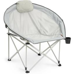 Ozark Trail Oversized Cozy Camp Chair Hold Up to 300 lbs Gra