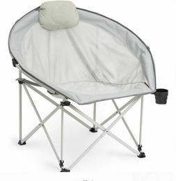 Oversized Cozy Camp Chair Portable Folding Picnic Camping Se