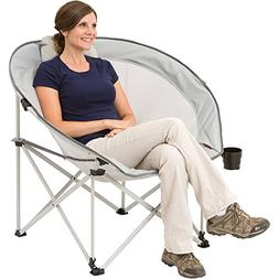 New! Ozark Trail Oversized Cozy Camping Chair includes Carry
