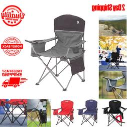 Coleman Oversized Folding Quad Chair With Cooler For Adults