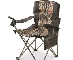 Oversized King Camp Chair 500 lb Capacity Camping Hiking Por