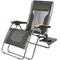 PORTAL Oversized Mesh Back Zero Gravity Recliner Chairs, XL