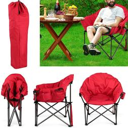 Oversized Moon Chair Foldable Camping Saucer Chairs Picnic H