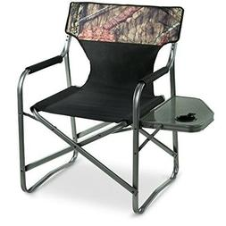 Oversized Portable Camping Lounge Chair 500-lb Folding Heavy