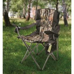Oversized Portable Camping Lounge Chair 500lb Folding Heavy