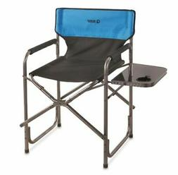 Guide Gear Oversized Tall Directors Chair, Blue, 500-lb. Cap