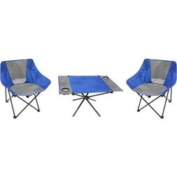 Ozark Trail Handy and Comfortable 3-Piece Portable Table and