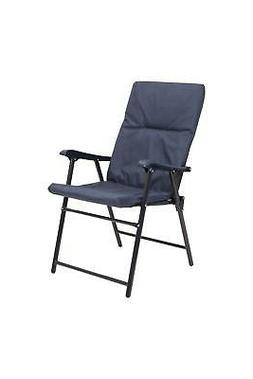 padded folding chair portable camping furniture