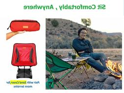 Picnic Camping Chairs Portable Heavy Duty 300Lb with Adjusta