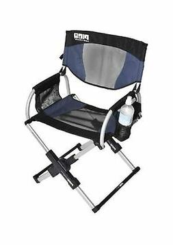 GCI Outdoor Pico Navy Telescoping Folding Arm Chair New  TL