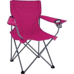 Ozark Trail Pink Deluxe Folding Camping Arm Chair