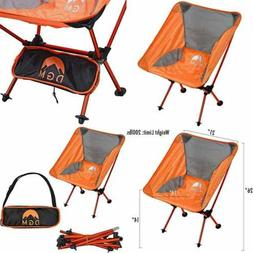 Portable & Heavy Duty Folding Camping Chair Mesh Fabric Comf