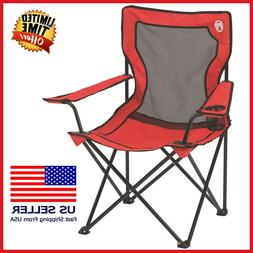 Coleman Portable Broadband Mesh Camping Quad Chair - 1-Can C