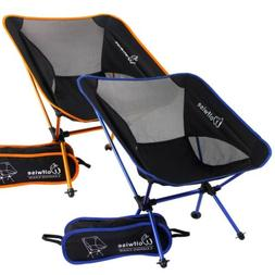 WolfWise Portable Camping Chairs Backpacking Picnic Beach Fi