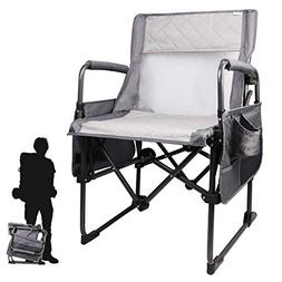 Zenree Portable Camping Director's Chair Breathable Mesh Mat