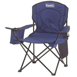 Coleman Portable Camping Quad Chair With 4 Can Cooler Side P