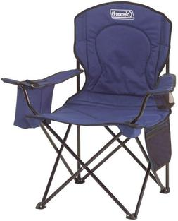 Coleman Portable Camping Quad Chair with 4-Can Cooler,NEW FR