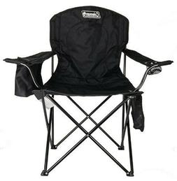 Coleman Portable Camping Quad Chair with 4-Can Cooler FREE F