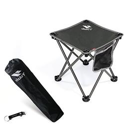 Portable Camping Stool, Folding Chair for Camping Fishing Hi