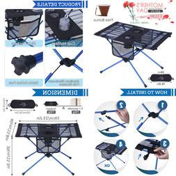 Portable Camping Table & Chairs Ultralight Foldable Picnic T