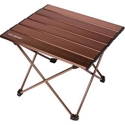 Trekology Portable Camping Side Tables with Aluminum Table T