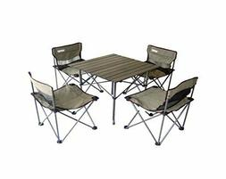 Portable Children's Camping Table and Chair Set