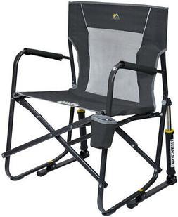 portable collapsible rocking chair outdoor sports camping
