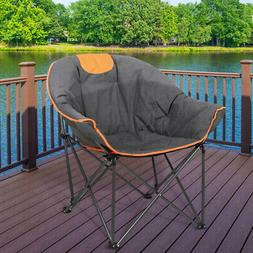 portable foldable camping chair outdoor fishing picnic