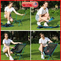 Portable Folding Backpacking Ultralight Camping Chair Outdoo